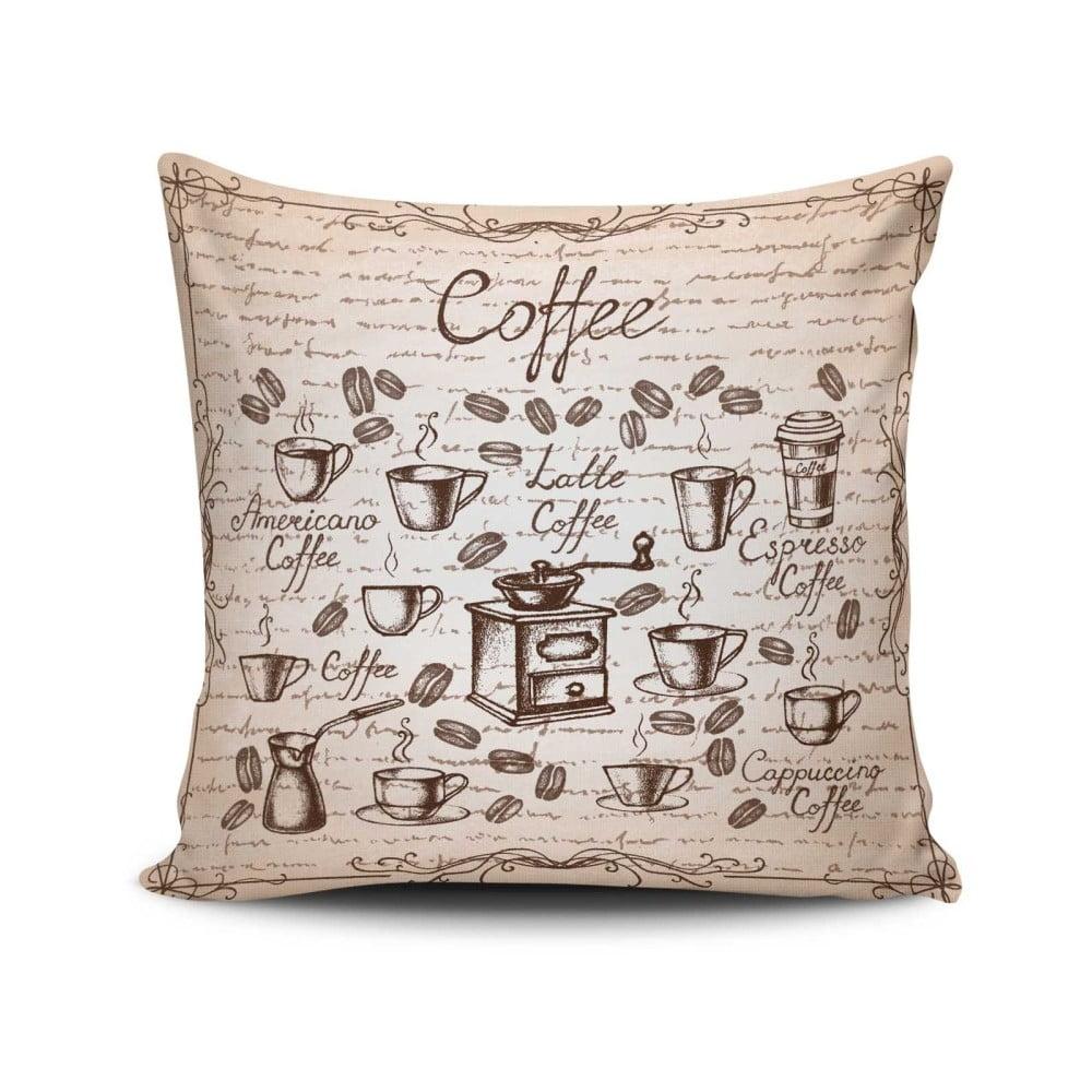 Vankúš s prímesou bavlny Cushion Love Persio, 45 × 45 cm