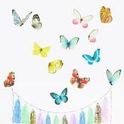 Nástenné znovu snímateľné samolepky Chocovenyl Butterflies