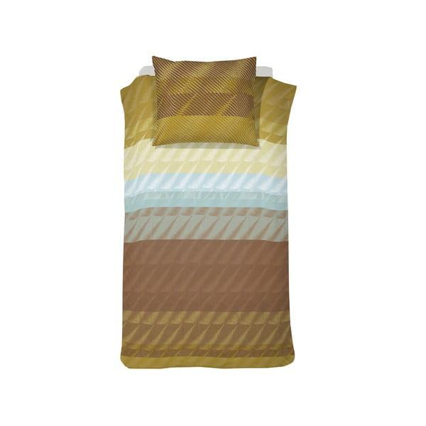 Obliečky Pleat Ochre, 140x200 cm