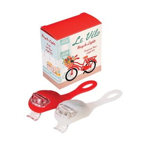 Sada 2 LED bateriek na bicykel v dekoratívnej škatuľke Rex London