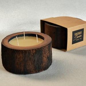 Palmová sviečka Legno Cera s vôňou včelieho vosku, 40 hodín horenia