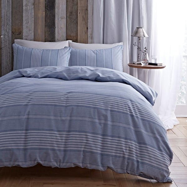 Obliečky Stripe Blue, 135x200 cm