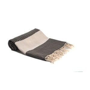 Hammam osuška z ručne tkanej bavlny ZFK Gurli, 180 x 95 cm