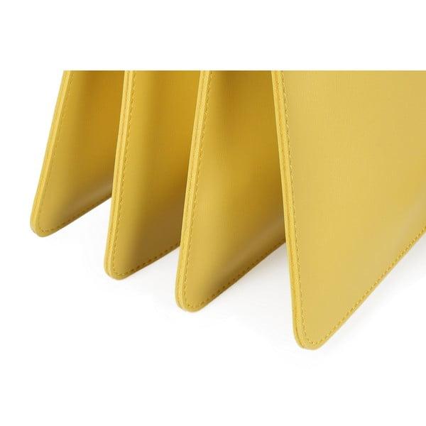 Žltá kabelka z eko kože Beverly Hills Polo Club Sylvia