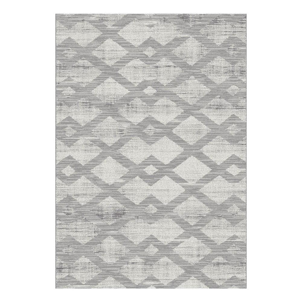 Sivý koberec Universal Manu, 57 × 110 cm