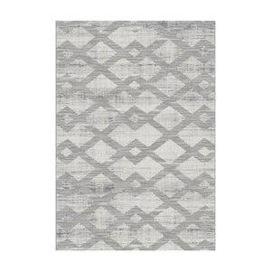 Sivý koberec Universal Manu, 57×110cm