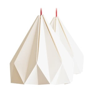 Origamica luster Spring Light For Two Vanilla Beige