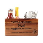 Prenoska s tabuľou na písanie z akáciového dreva T&G Woodware Glorious