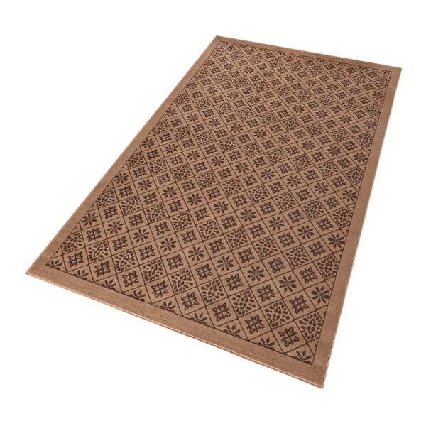Hnedý koberec Hanse Home Gloria Tile, 120x170cm