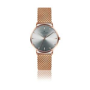 Dámske hodinky s antikoro remienkom v ružovozlatej farbe Frederic Graff Lusma