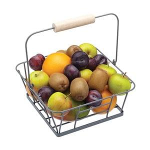 Košík na ovocie, kovový