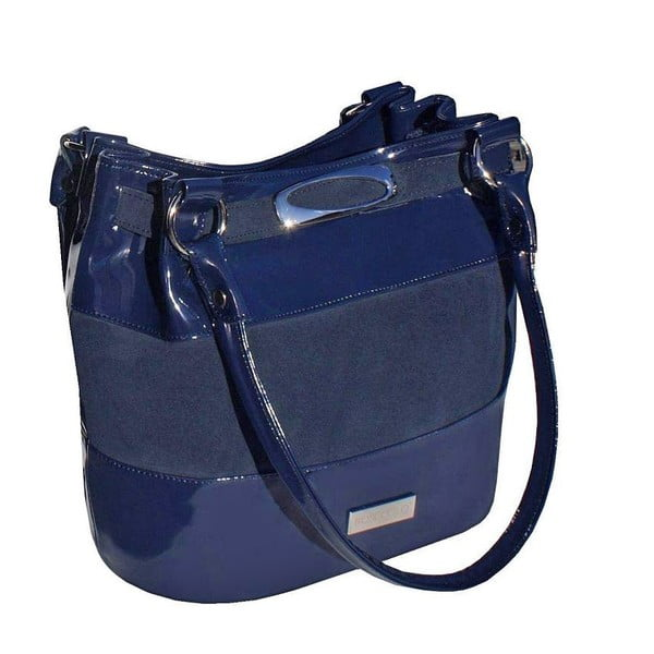 Kožená kabelka Boscollo Blue 2532