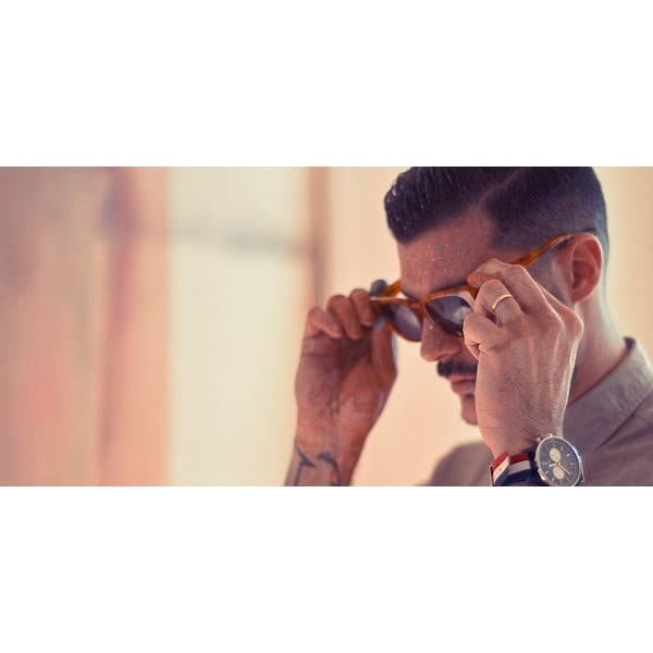 Unisex slnečné okuliare skorytnačinovým rámom Triwa Umber Lector