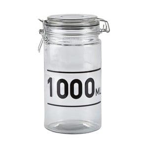 Sklenená dóza s vekom KJ Collection Jar, 1 l