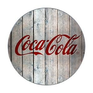Sklenená podložka pod hrniec Wenko Coca-Cola Wood