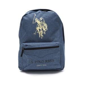Modrý pánsky batoh U.S. Polo Sport, 30 × 44 cm