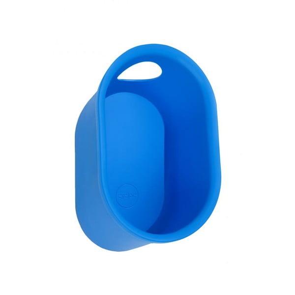 Nástenný stojan na cyklistické doplnky Cycloc Loop, modrý