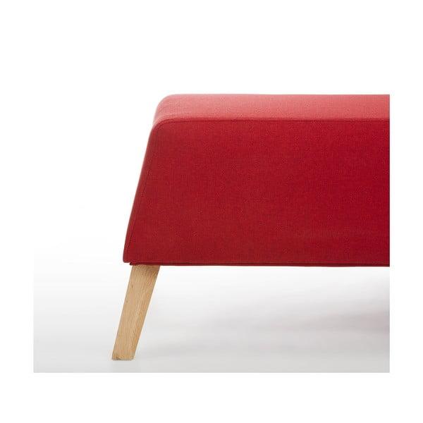 Sedacia taburetka Kate, červená