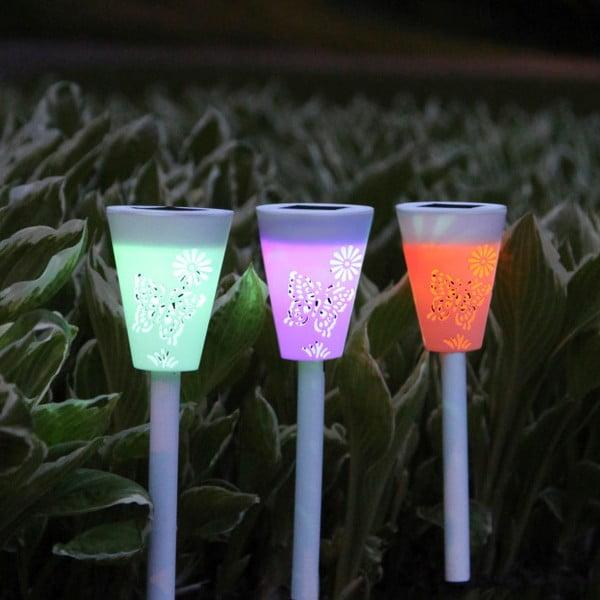 Záhradné svetlo Solar Energy Path Lights, 3ks