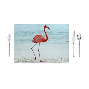 Prestieranie Home de Bleu Beach Flamingo, 35 x 49 cm