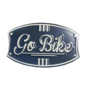 Ceduľa na stenu Novita Go Bike