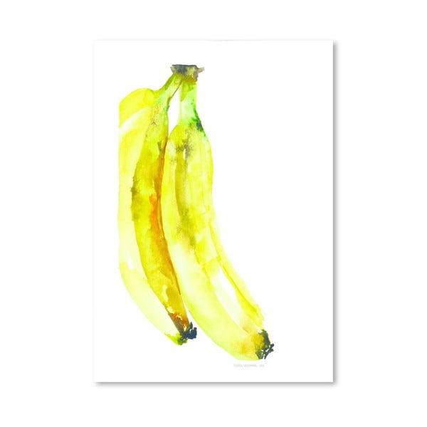 Plagát Banana, 30x42 cm