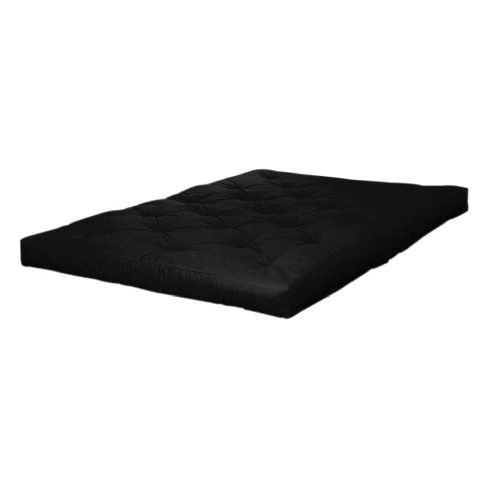 Matrac v čiernej farbe Karup Design Comfort Black, 120 × 200 cm