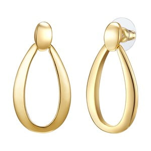 Dámske náušnice zlatej farby Tassioni Runaway Ortel