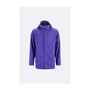 Fialová unisex bunda s vysokou vodeodolnosťou Rains Jacket, veľkosť L / XL