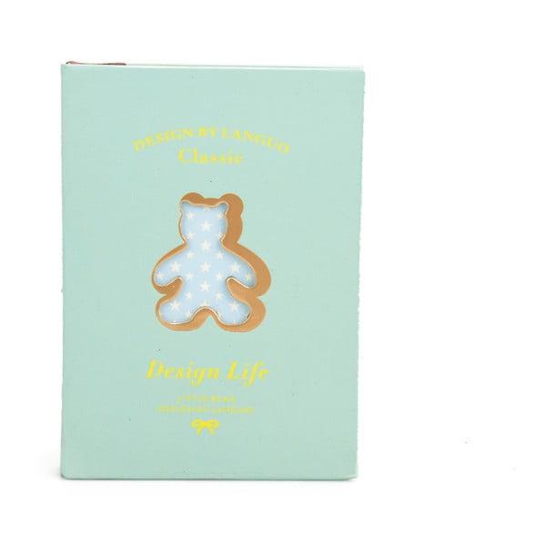 Zápisník Bear, zelený