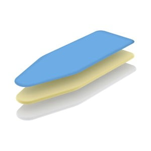 Modrý poťah na žehliacu dosku Colombo New Scal Termo, 130×50 cm