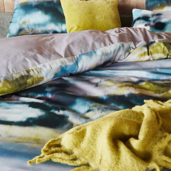 Obliečky Essenza Phos, 135x200 cm, modré