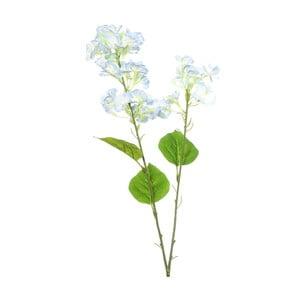 Umelá kvetina s modrými kvetmi Ixia Atieno, výška 76cm