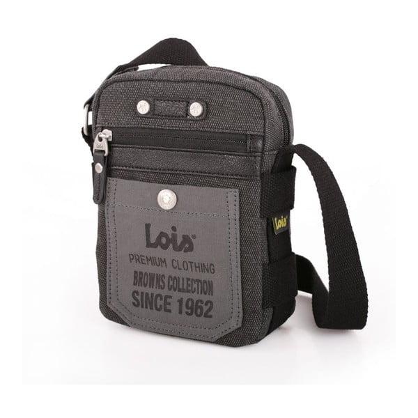 Taška cez rameno Lois Black, 14x19 cm
