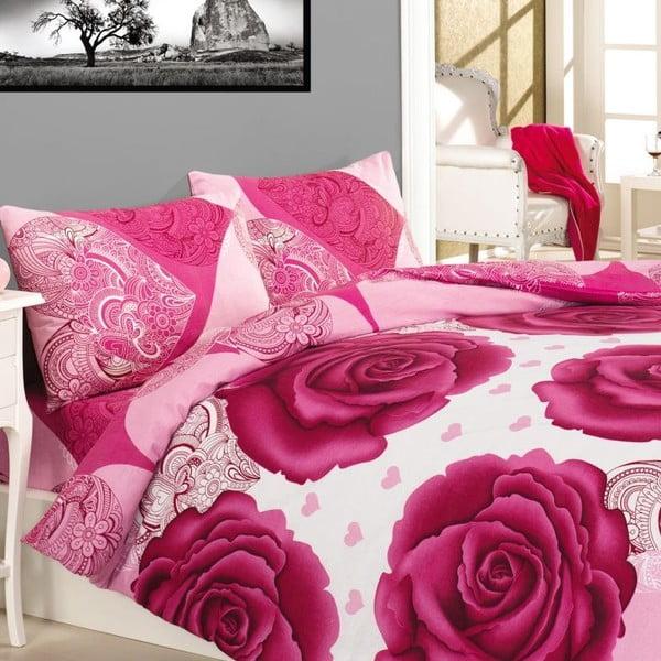 Obliečky Gun Pink Rose, 240x220 cm