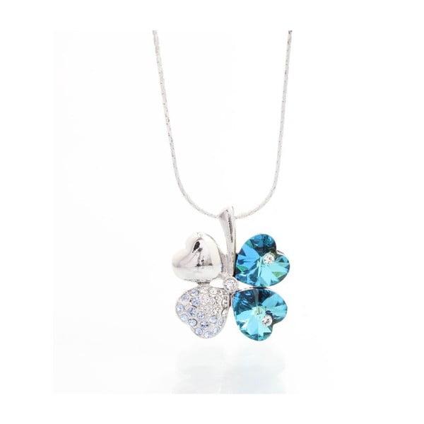 Náhrdelník Yasmine Floral Blue