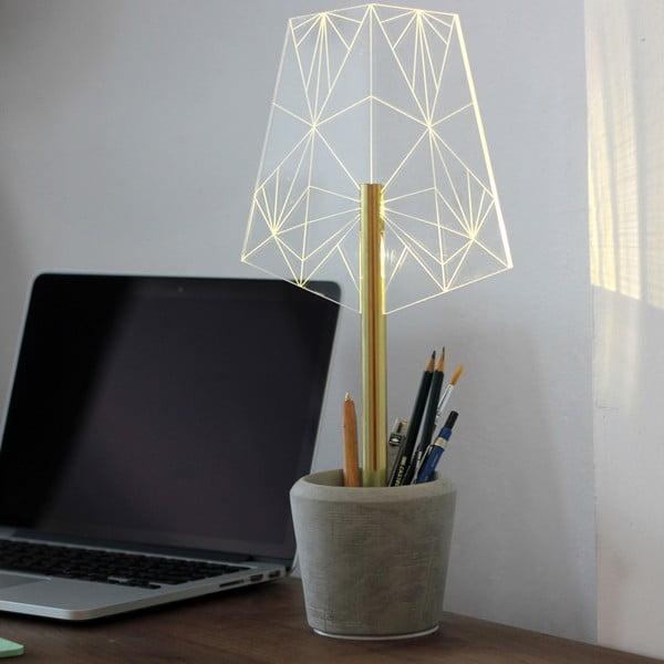Náladové svetlo s kalíškem na tužky Wired A