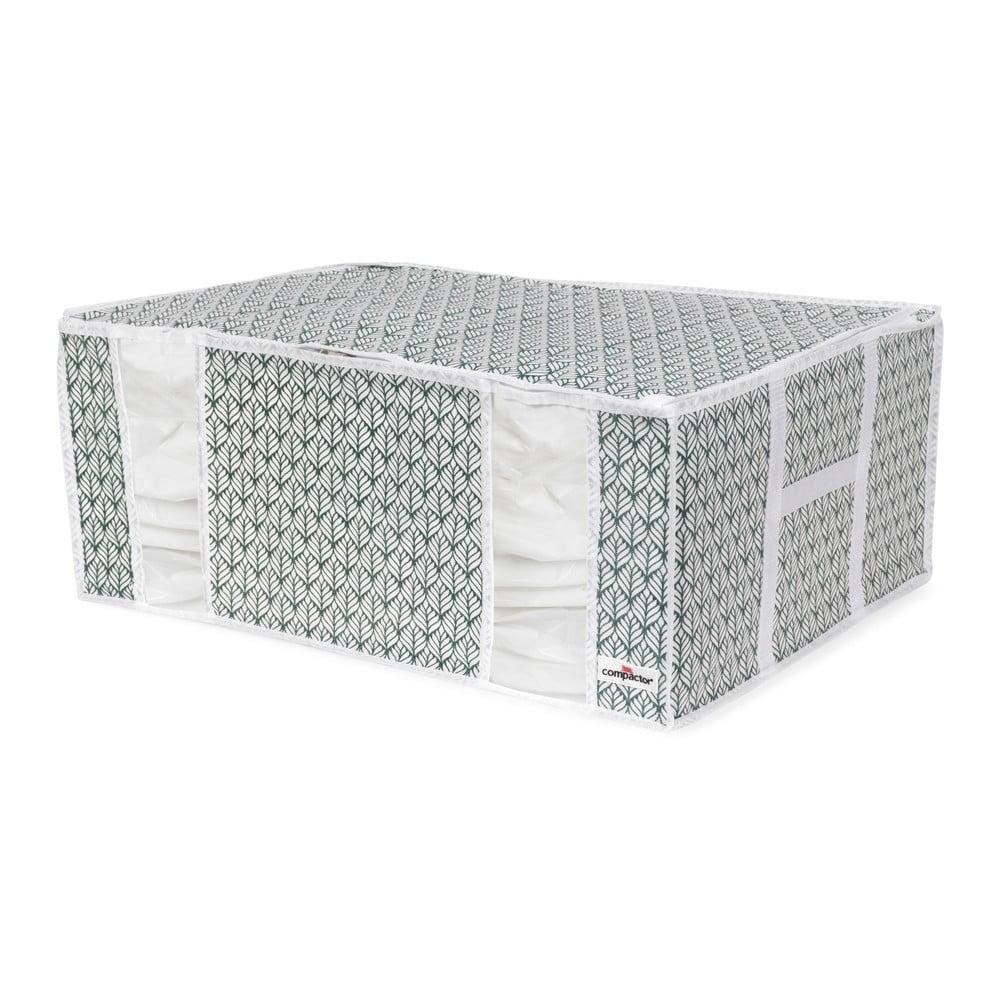Modrý úložný box na oblečenie Compactor Signature XXL Missy, 210 l