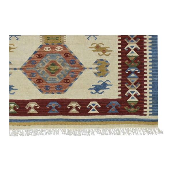 Ručne tkaný koberec Bakero Kilim Classic AK05 Mix, 170 x 230 cm