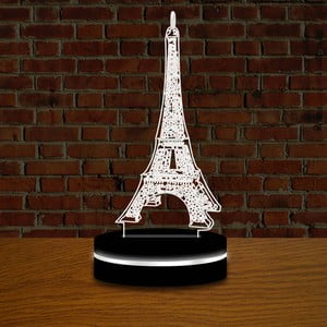 Svetlo s 3D efektom Eiffelovka