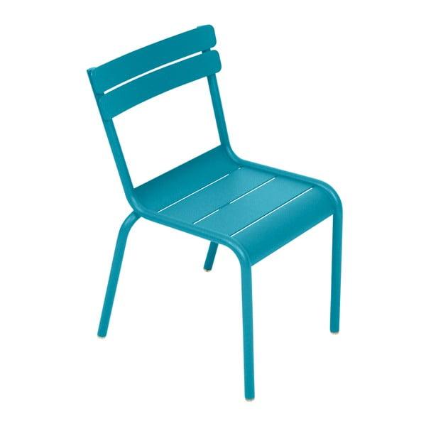 Tyrkysová detská stolička Fermob Luxembourg