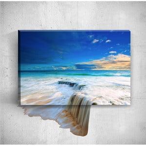 Nástenný 3D obraz Mosticx Big Waterfalls, 40×60 cm