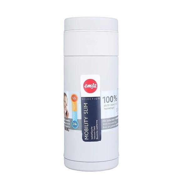 Termo fľaša Mobilitiy Slim White, 320 ml