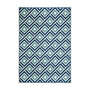 Modrý koberec Nourison Baja Arequipes, 229×160cm