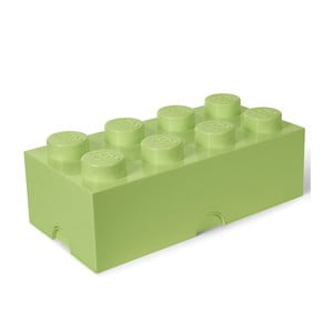Svetlozelený úložný box LEGO® Mini Box Light Green Lungo