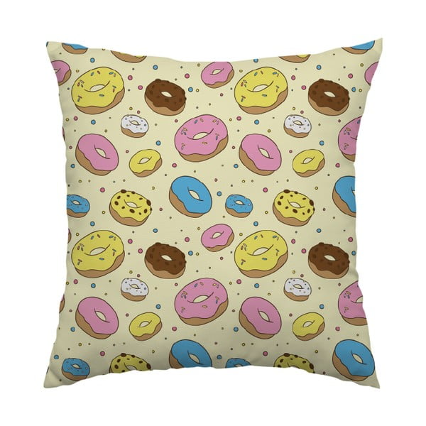 Vankúš Donut Lover, 40x40 cm