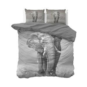 Bavlnené obliečky na dvojlôžko Sleeptime Elephant, 240×220 cm