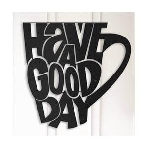 Kovová nástenná dekorácia Good Cup