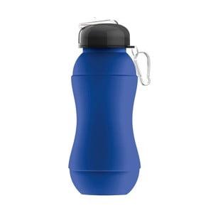 Športová fľaša Sili-Squeeze, modrá, 700 ml