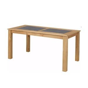 Svetlý jedálenský stôl Støraa Zamora, 160×90 cm